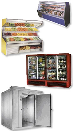 Photo of various refrigeration equipment